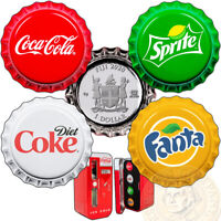 FIJI COCA COLA FANTA SPRITE COKE DIET SILVER COIN SET $1 BOTTLE CAP 2020 VENDING