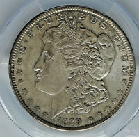 1889 MORGAN DOLLAR  - PCGS MINT STATE 62 - VAM 7