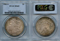 1902-S $1 SILVER COIN PCGS MINT STATE 65