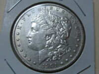 AU 1901-S MORGAN DOLLAR  TOUGH TO FIND THIS    GED