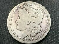1890-S   MORGAN DOLLAR  VG         3 OR MORE  FREE S/H      90 SILVER   A714