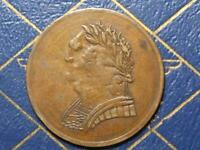 LC 60E4 1820 TOKEN LOWER BAS CANADA QUEBEC BUST AND HARP BH 19 BRETON 1012