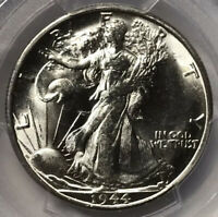 1944-S WALKING LIBERTY HALF DOLLAR PCGS MINT STATE 64 COIN