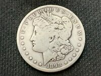 1898-S  MORGAN DOLLAR   F VF       3 OR MORE  FREE S/H      90 SILVER   A853