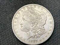 1887-O   MORGAN DOLLAR   EXTRA FINE       3 OR MORE  FREE S/H      90 SILVER   A967