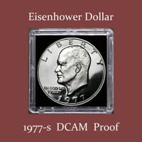 1977-S EISENHOWER PROOF DOLLAR  $2.75 MAXIMUM SHIPPING FOR ENTIRE ORDER
