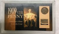 1909 VDB PENNY P AMERICAS FIRST LINCOLN CENT