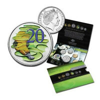 2013 UNCIRCULATED MINT COIN SET WITH HYPER METALLIC 20 CENT SPECIAL EDITION