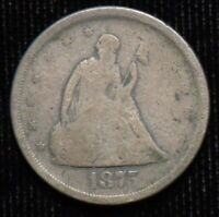 1875 S 20 CENT PIECE   GOOD