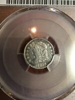 PCGS EXTRA FINE 45 1832 CAPPED BUST HALF DIME H10C