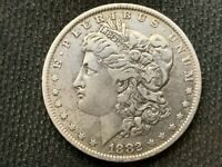 1882-O  MORGAN DOLLAR   EXTRA FINE        3 OR MORE  FREE S/H      90 SILVER    C1089