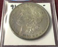 1891-S MORGAN SILVER DOLLAR UNGRADED