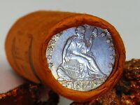 1854 SEATED LIBERTY END/1926 STANDING LIB END ROLL $10.00 QU