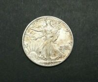 1943-P WALKING LIBERTY HALF DOLLAR 90 SILVER US COIN M1819