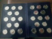 A   Z 10P COIN COLLECTION FULL SET OF 26 COINS FROM 2018 UNC