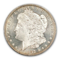 1897-O $1 MORGAN DOLLAR PCGS MINT STATE 63PL