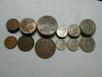 SWEDEN SET OF  1 2 5 10 25 50 ORE 1909 1950 6 COINS PRICE FOR 1 SET