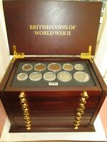 COMPLETE BRITISH COINS OF WORLD WAR II 1939   1945 BOXED SET