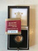CHOICE PROOF 2002 PROOF GOLD 1/10TH OUNCE BRITANNIA   GREAT