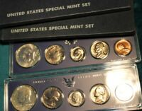 LOT OF TWO 1966 UNITED STATES SPECIAL MINT COIN SETS