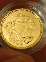 2005 GOLD HALF SOVEREIGN
