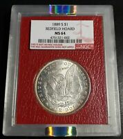 STUNNING 1889 S MORGAN FROM THE REDFIELD HOARD NGC MINT STATE 64