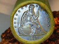 1847 SEATED LIBERTY TOP QUALITY END  / CC CAMEO END MORGAN D