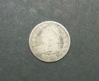 1821 CAPPED BUST DIME CIRCULATED PHILADELPHIA 10C SILVER COIN M2223
