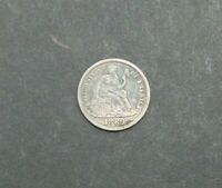 1889-S 10C SEATED LIBERTY ONE DIME SILVER US COIN HIGH GRADE M2274