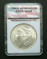 1900-O $1 MORGAN 90 SILVER DOLLAR $1 COIN HIGHER GRADE MIRROR FINISH  M2515