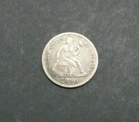 1890-P 10C SEATED LIBERTY ONE DIME SILVER US COIN M2272