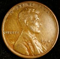 1949 S/S LINCOLN CENT  RPM 003 REPUNCHED MINTMARK