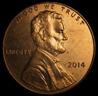 2014 LINCOLN SHIELD CENT  DIE CLASH