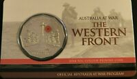 2014 THE WESTERN FRONT UN CIRCULATED 50 CENT COIN   AUSTRALI