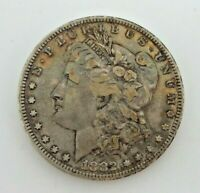 1882-P MORGAN SILVER DOLLAR 90 SILVER US COIN RAINBOW TONING M3715