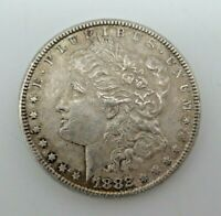 1882-P MORGAN SILVER DOLLAR 90 US COIN V153