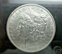 1890-P MORGAN SILVER DOLLAR 90 SILVER US COIN UNCIRCULATED  V128