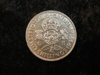 SILVER OLD WORLD COIN LOT GREAT BRITAIN FLORIN 1942 KM855  2