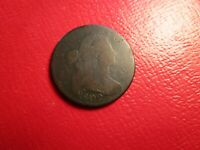 1802 DRAPED BUST LARGE CENT S-225  SURFACES R-2 WE COMBINE ON SHIPPING