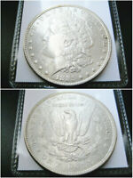 1885 P MORGAN SILVER DOLLAR CHOICE UNC BU COIN