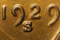 1929 S/S LINCOLN CENT   RPM 002    VARIETY MS RB