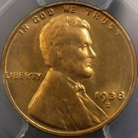 1938 S/S LINCOLN CENT RPM  FS 501 16.51  PCGS MS66RD  TOP 100 RPM GEM