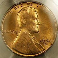 1940 S/S LINCOLN CENT  PCGS MS64RD  TOP 100 RPM 001 & DDO 001  VERY