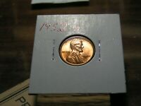 1952 D LINCOLN  WHEAT CENT    RED BU COIN