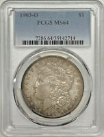 1903 O MORGAN DOLLAR PCGS MINT STATE 64 SILVER REGISTRY COIN