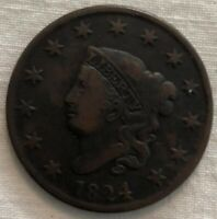 1824 MATRON HEAD LARGE CENT