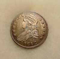 1812 CAPPED BUST HALF DOLLAR - O.105 - SHARP LOOKING COIN - SHIPS FREE
