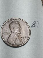 1922-D LINCOLN WHEAT CENT,  DATE, 81