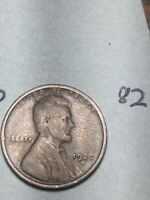 1922-D LINCOLN WHEAT CENT,  DATE, 82