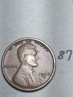1922-D LINCOLN WHEAT CENT,  DATE, 87